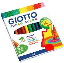 (40100ES) FIBRAS GIOTTO TURBO COLOR X10 - ARTICULOS ESCOLARES - FIBRAS